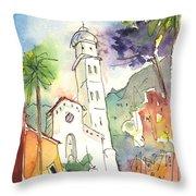 Portofino In Italy 01 Throw Pillow