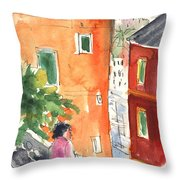 Portofino In Italy 04 Throw Pillow
