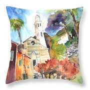 Portofino In Italy 05 Throw Pillow