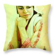 Portrait - Daydream   Throw Pillow