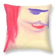 Portrait 12 Throw Pillow