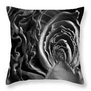Portrait Of A Cabbage II Throw Pillow
