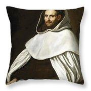 Portrait Of A Carmelite Throw Pillow