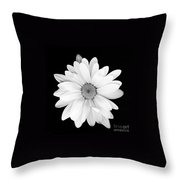 Portrait Of A Daisy Throw Pillow