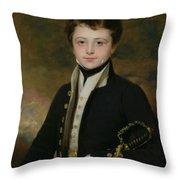 Portrait Of A Midshipman Throw Pillow
