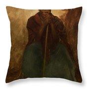 Portrait Of A Negress Throw Pillow