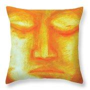Portrait Of Buddha Throw Pillow