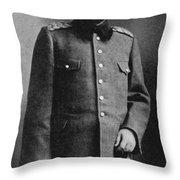 Portrait Of Djemal Pasha Throw Pillow
