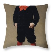 Portrait Of Henri Achille Throw Pillow