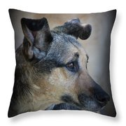 Portrait Of Kylie Throw Pillow