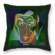 Portrait Of Milly Throw Pillow