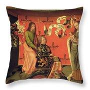 Portrait Of The Chevalier Philip Throw Pillow