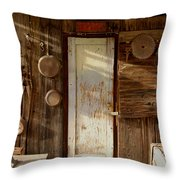Portrait Of The Past Throw Pillow