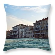 Portrait Of Venice Throw Pillow