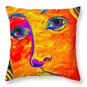Portrait Of Venus Throw Pillow