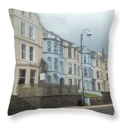 Portrush Northern Ireland Throw Pillow