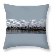 Portsmouth Bay Throw Pillow