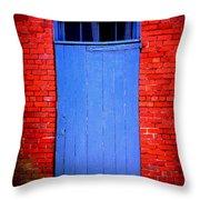 Portsmouth Door 6 Throw Pillow