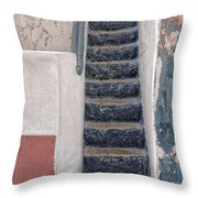 Portugese Steps Throw Pillow