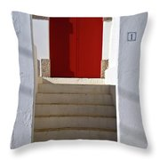 Portuguese Entrance Throw Pillow