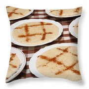 Portuguese Food Throw Pillow