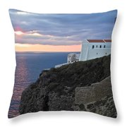 Portuguese Lands End  Throw Pillow