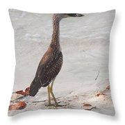 Pose Off Throw Pillow