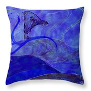 Poseidon Surf By Jrr Throw Pillow