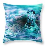 Poseidons Warriors Xiv Throw Pillow