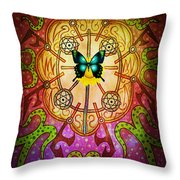 Positive Attraction Throw Pillow