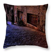 Post Alley - Seattle Throw Pillow