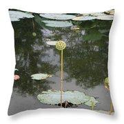 Post Bloom Throw Pillow