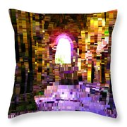 Post-it Archway Throw Pillow