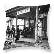 Post Office, 1935 Throw Pillow