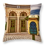 Post Office Throw Pillow
