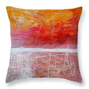 Postcard From Everywhere Throw Pillow