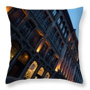 Postcard From Montreal Throw Pillow