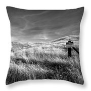 Posted Throw Pillow