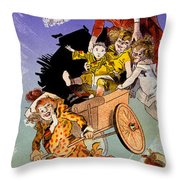 Poster For Aux Buttes Chaumont Toy Throw Pillow