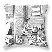 Potter, 1659 Throw Pillow