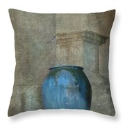 Pottery And Archways II Throw Pillow