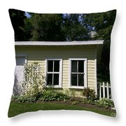 Potting Shed Throw Pillow