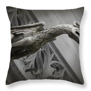 Pouncing Dragon Throw Pillow