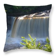 Pouring Down Throw Pillow
