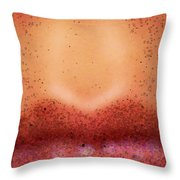 Pouty Lips Throw Pillow