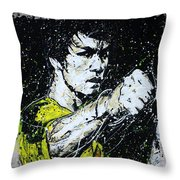POW Throw Pillow