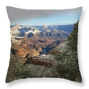 Powder Coated Canyon Throw Pillow