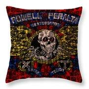 Powell Peralta Throw Pillow