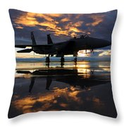 Power At Rest Throw Pillow
