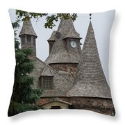 Power House Throw Pillow